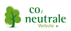 Zertifikat CO2 neutrale Website